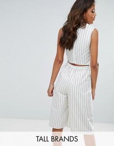 Комбинезон в полоску с открытой спиной Vero Moda Tall - Мульти