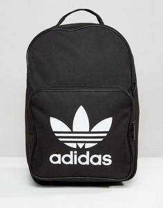 Черный рюкзак с логотипом в виде трилистника adidas Originals - Черный
