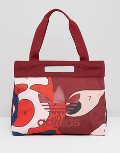 Сумка для покупок Adidas Rita - Красный