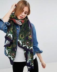 Легкий шарф с принтом пейсли ASOS - Мульти