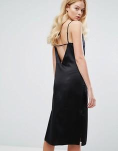 Шелковое платье Walter Baker Kendall - Черный