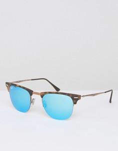 Солнцезащитные очки Клабмастер Ray Ban - Коричневый