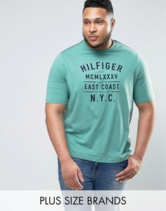 Зеленая футболка с логотипом Tommy Hilfiger PLUS Ryan - Зеленый