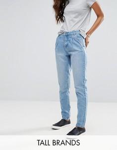 Свободные джинсы в винтажном стиле Vero Moda Tall - Синий