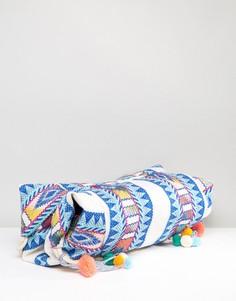 Фестивальная разноцветная сумка-хобо America & Beyond - Мульти
