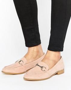 Розоватые туфли на плоской подошве Faith Agnes - Розовый