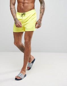 Желтые шорты для плавания Jack & Jones - Желтый