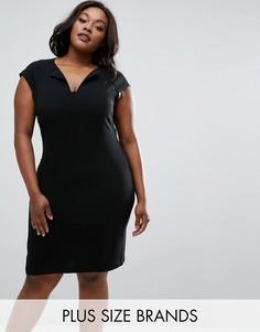 Платье Elvi Plus - Черный