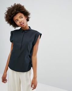 Блузка без рукавов Monki - Черный