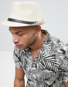 Соломенная шляпа в стиле 7-х - Рыжий 7X