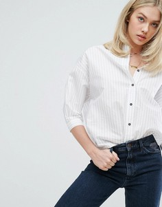 Рубашка в полоску MiH Jeans Poets - Белый