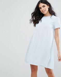Свободное платье Little White Lies Fleur - Синий