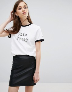Футболка с логотипом Fred Perry Bella - Белый