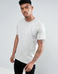 Серая футболка с большим логотипом Nike 897143-042 - Серый