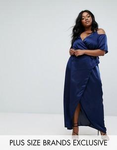 Платье макси Truly You - Темно-синий