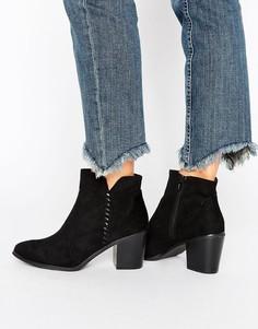 Полусапожки на каблуке Head Over Heels By Dune - Черный