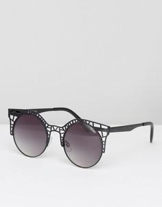 Солнцезащитные очки Quay Australia Fleur - Черный