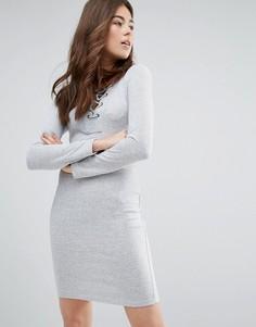 Платье со шнуровкой Only Elcos Sandy - Серый