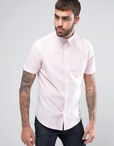 Однотонная оксфордская рубашка классического кроя Ben Sherman - Розовый