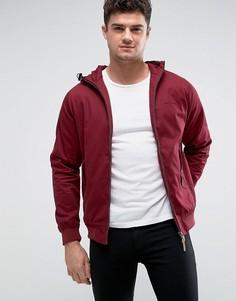Куртка Харрингтон с капюшоном Lambretta - Красный