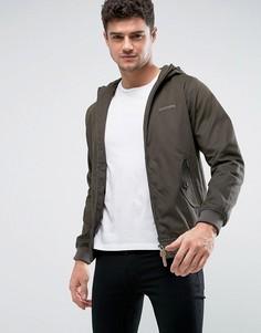 Куртка Харрингтон с капюшоном Lambretta - Зеленый