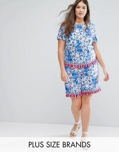 Комбинируемые шорты с отделкой кисточками Alice & You - Мульти