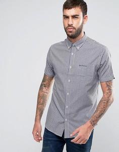 Классическая рубашка в клетку Ben Sherman - Темно-синий