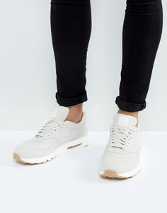 Бежевые премиум-кроссовки Nike Air Max 1 898009-001 - Бежевый