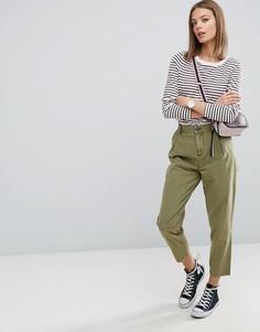 Выбеленные брюки галифе ASOS Ultimate - Зеленый