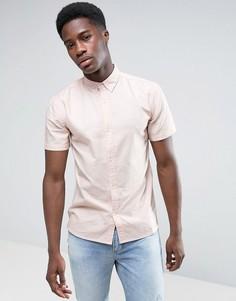 Базовая рубашка-оксфорд D-Struct - Розовый