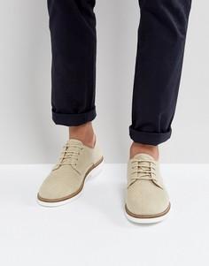Туфли дерби Selected Homme - Светло-серый