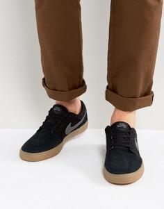 Черные кроссовки на каучуковой подошве Nike SB Portmore II SS 880266-009 - Черный