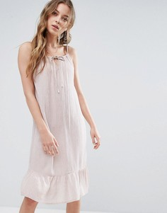 Платье миди на тонких бретельках Blend She Michelle - Мульти