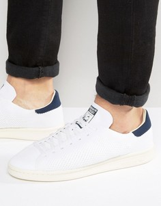 Белые кроссовки adidas Originals Stan Smith OG Primeknit S75148 - Белый