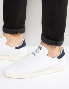 Белые кроссовки adidas Originals Stan Smith OG Primeknit S75148 - Белый
