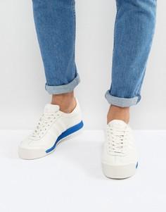 Белые кроссовки в винтажном стиле adidas Originals Samoa BB8598 - Белый