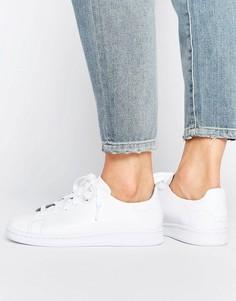 Кроссовки из премиум-кожи Adidas Stan Smith - Белый