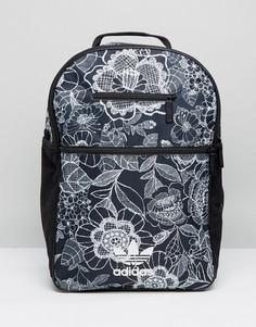 Рюкзак с монохромным цветочынм adidas Originals - Мульти