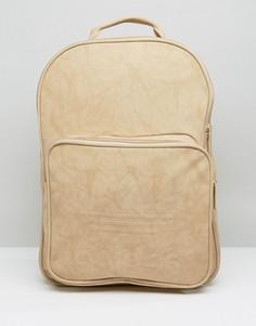 Песочный рюкзак с логотипом adidas Originals Premium - Бежевый