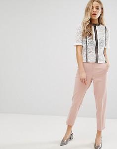Суженные книзу брюки New Look - Розовый