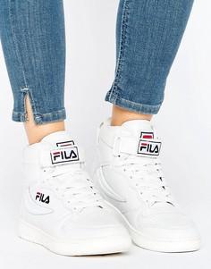 Белые высокие кроссовки Fila Fx100 - Белый