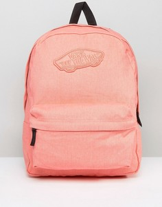 Рюкзак персикового цвета Vans Realm - Оранжевый