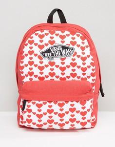 Рюкзак с сердечками Vans Realm - Мульти