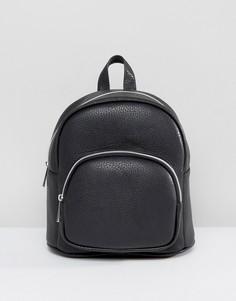 Маленький рюкзак с карманом спереди ASOS - Черный
