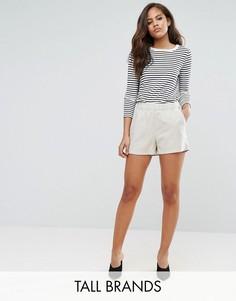 Тканые шорты Vero Moda Tall - Бежевый