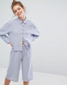 Пижамная рубашка Lazy Days - Синий