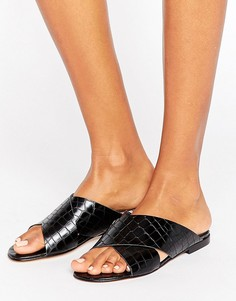 Кожаные сандалии Dune Labrinth - Черный