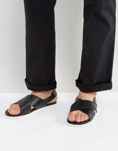 Кожаные сандалии Zign - Черный