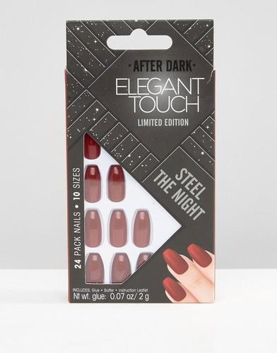Накладные ногти с искусственным жемчугом House of Holland Luxe by Elegant Touch - Красный