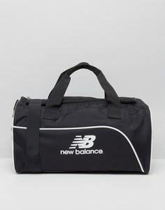 Классическая дорожная сумка с логотипом New Balance - Черный
